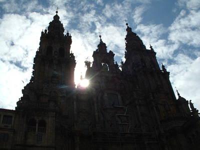 Santiago De Compostela Art Print by Lara Henderson