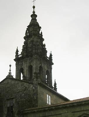 Santiago De Compostela Steeple Art Print by Halle Treanor