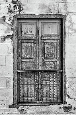 Photograph - Santiago Portal II Bw by Dawn Currie