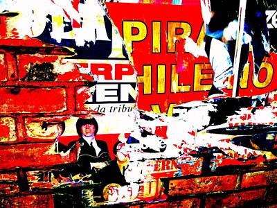 Valparaiso Photograph - Santiago Poster Wall  by Funkpix Photo Hunter