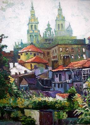 Painting - Santiago  Spain by Paul Weerasekera