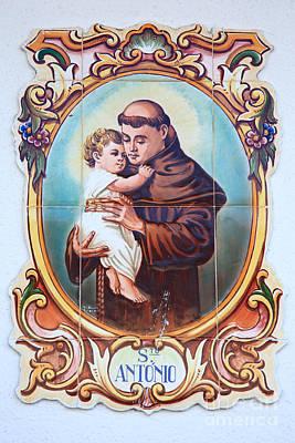 Santo Antonio De Lisboa Art Print by Gaspar Avila