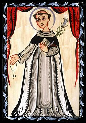 Painting - Santo Domingo - St. Dominic - Aosad by Br Arturo Olivas OFS