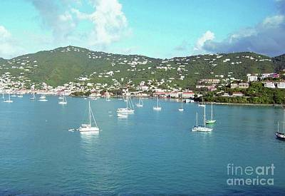 Photograph - Santo Dominico Harbor by Gary Wonning