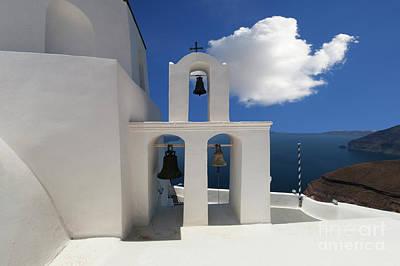 Photograph - Santorini by Bob Christopher
