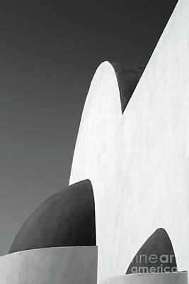 Thera Photograph - Santorini Chapel 2 by Rod McLean
