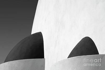 Thera Photograph - Santorini Chapel 3 by Rod McLean