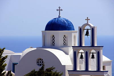 Photograph - Santorini by Debi Demetrion