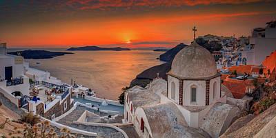 Photograph - Santorini  by Emmanuel Panagiotakis