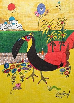 Painting - Santorini-esque by Lew Hagood