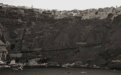 Photograph - Santorini, Greece by Cendrine Marrouat