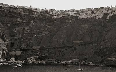 Photograph - Santorini, Greece by Cendrine Marrouat