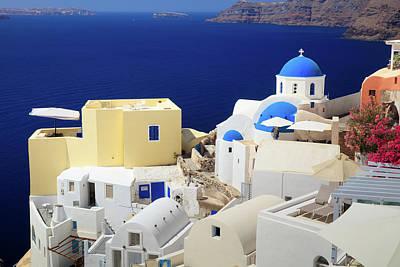 Photograph - Santorini Greece  by Emmanuel Panagiotakis