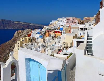Photograph - Santorini Greece by Joel Gilgoff