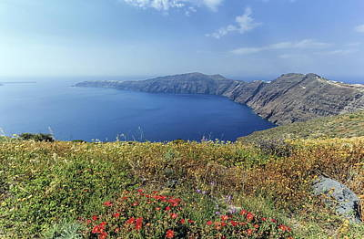 Photograph - Santorini Island, North, Greece by Elenarts - Elena Duvernay photo