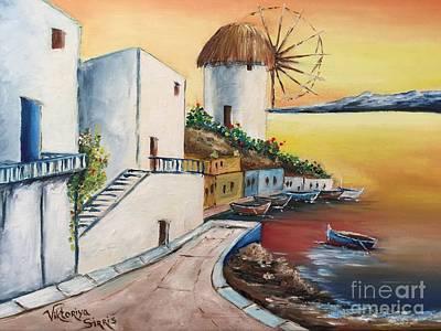 Santorini Island  Original