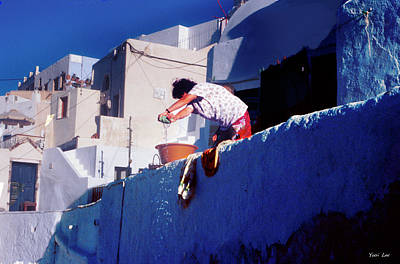 Anne Geddes Collection - Santorini Laundry woman by Yuri Lev