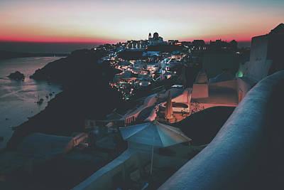 Photograph - Santorini Lights by Pixabay