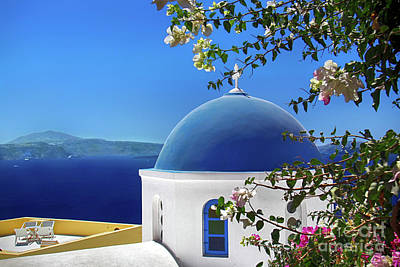 Photograph - Santorini Paradise by Mariola Bitner