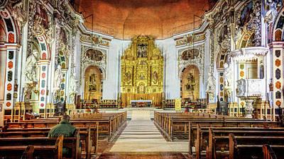 Santos Juanes Church Valencia Spain Art Print