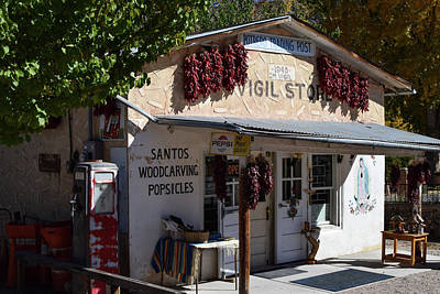 Photograph - Santos Woodcarving And Popsicles In Chimayo by Tom Cochran
