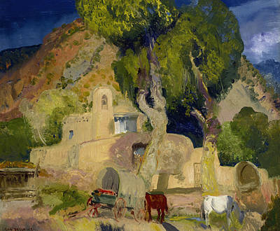 Painting - Santuario De Chimata by George Bellows