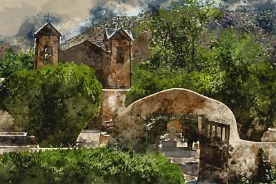 Santuario De Chimayo 1 Art Print by Kevin O'Hare