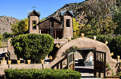 Photograph - Santuario De Chimayo by Tom Cochran