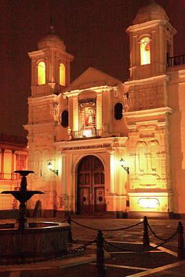 Photograph - Santuario De Nuestra Senora De La Soledad  by Roupen  Baker