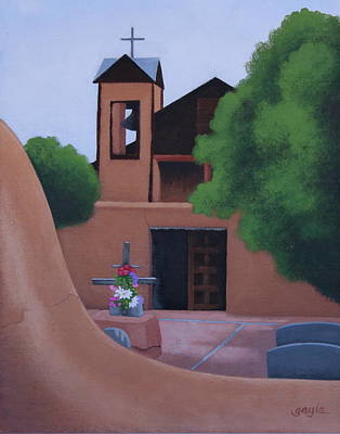 Painting - Santuario In September by Gayle Faucette Wisbon
