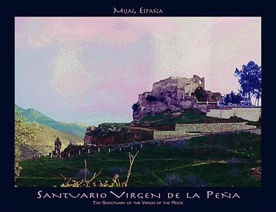 Photograph - Santuario Virgen De La Pena Poster by Robert J Sadler
