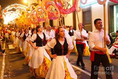 Azoren Photograph - Sao Joao Da Vila Festival by Gaspar Avila