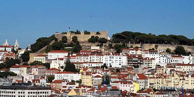 Photograph - Sao Jorge Fortress Lisbon 1 by Rudi Prott
