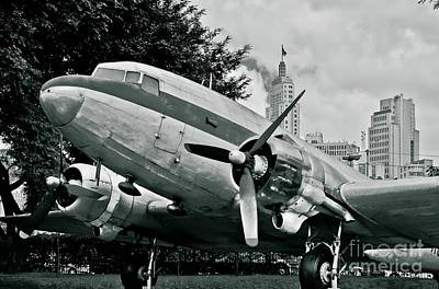 Photograph - Classic Aircraft Douglas Dc-3 by Carlos Alkmin