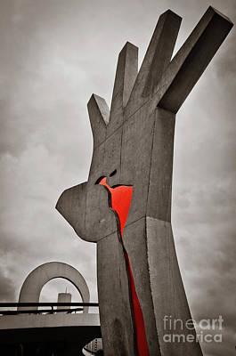Photograph - Sao Paulo - Brazil - Memorial Da America Latina by Carlos Alkmin
