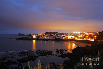 Village By The Sea Photograph - Sao Roque - Azores by Gaspar Avila