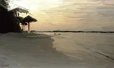 Digital Art - Sao Tome And Principe by Brett Winn