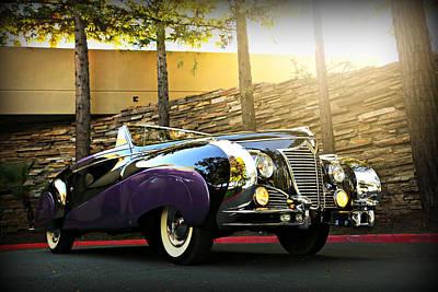 Photograph - Saoutchik Cadillac by Steve Natale