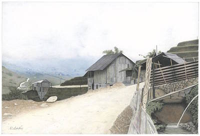 Sapa North Vietnam Art Print by Wilfrid Barbier