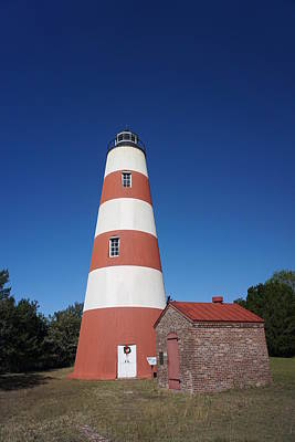 Photograph - Sapelo Island Lighthouse by Red Cross