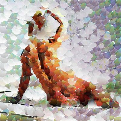 Abstract Seascape Mixed Media - Sapientia Et Virtus by Sir Josef - Social Critic -  Maha Art