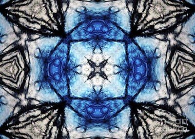 Digital Art - Sapphire Blues by Kimberly Nyce