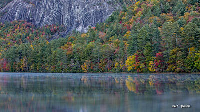 Photograph - Sapphire Lake by Walt  Baker