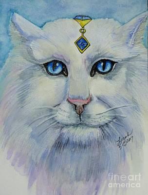 Painting - Sapphire by Lorah Buchanan