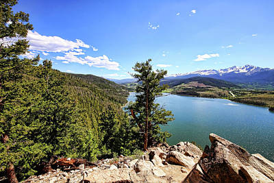 Photograph - Sapphire Point 1 by Judy Vincent