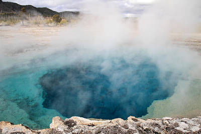 Photograph - Sapphire Pool Yellowstone by Pierre Leclerc Photography