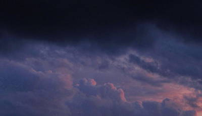 Sapphire Storm Print by Joshua Bales