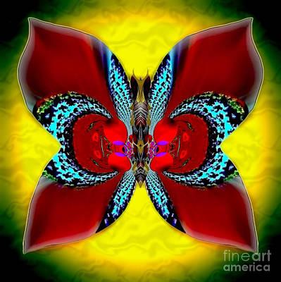 Blue Healer Digital Art - Sapphire Willowcreek by Raymel Garcia