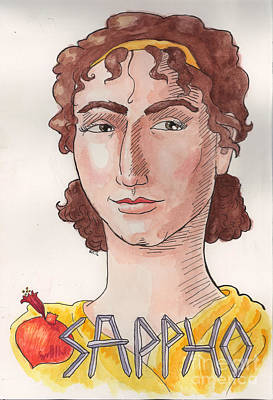 Sappho Art Print
