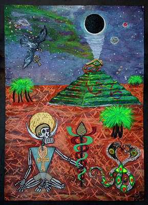 Painting - Saqqara Cooomplete by Rufus J Jhonson
